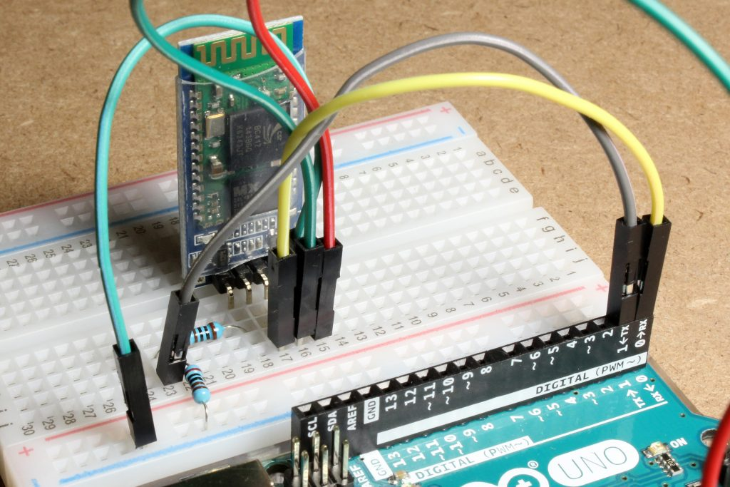 Testing the Android apps for Arduino Bluetooth control