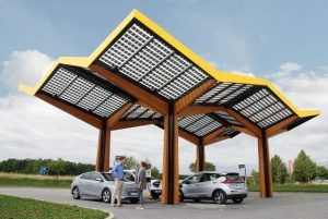 This is what 350kW charging looks like - fast-charging-station_Fastned_Germany