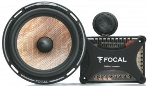 Focal loudspeaker crossover set