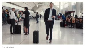 Meet Ovis, the self-lugging luggage