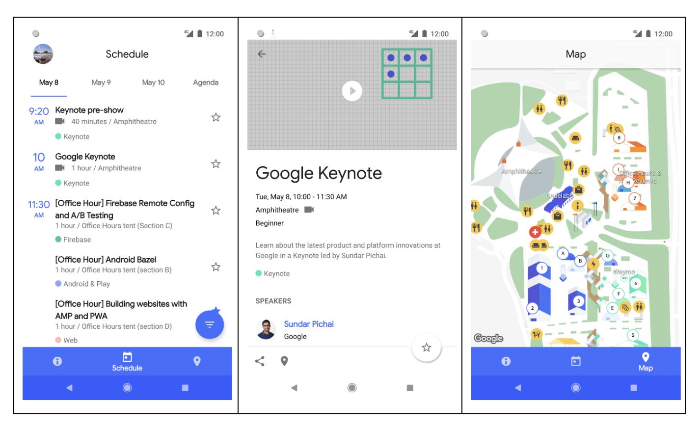 Google releases source for flagship Google I/O 2018 app