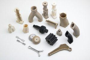 Apium-materials 3D printed