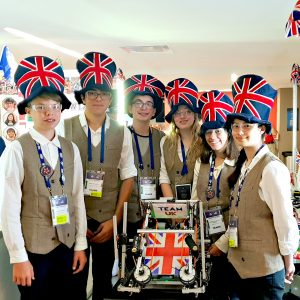 UK STEM students help program third place in Robotics Olympics