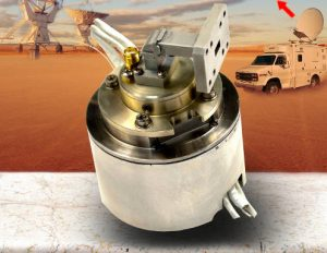 Ka-band rotary joint includes Tx, Rx and power - Link-Microtek-LM644