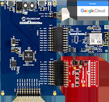 Microchip, Google Cloud produce IoT development board