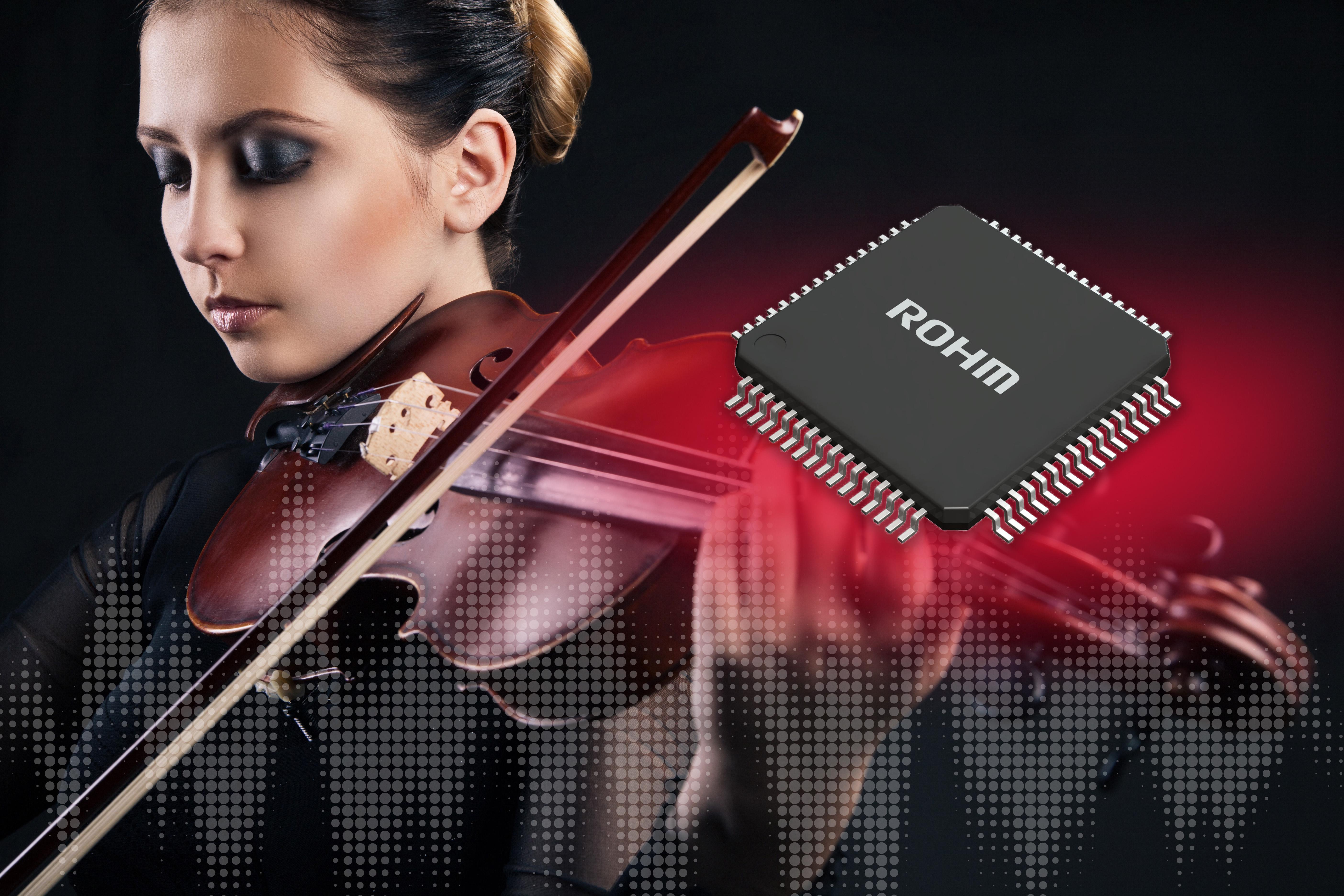 ROHM re-brands hi-fi DACs