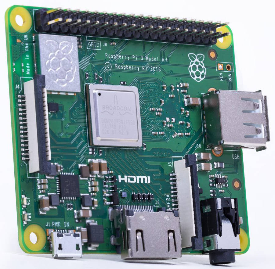 Say hello to the Raspberry Pi 3 Model A+