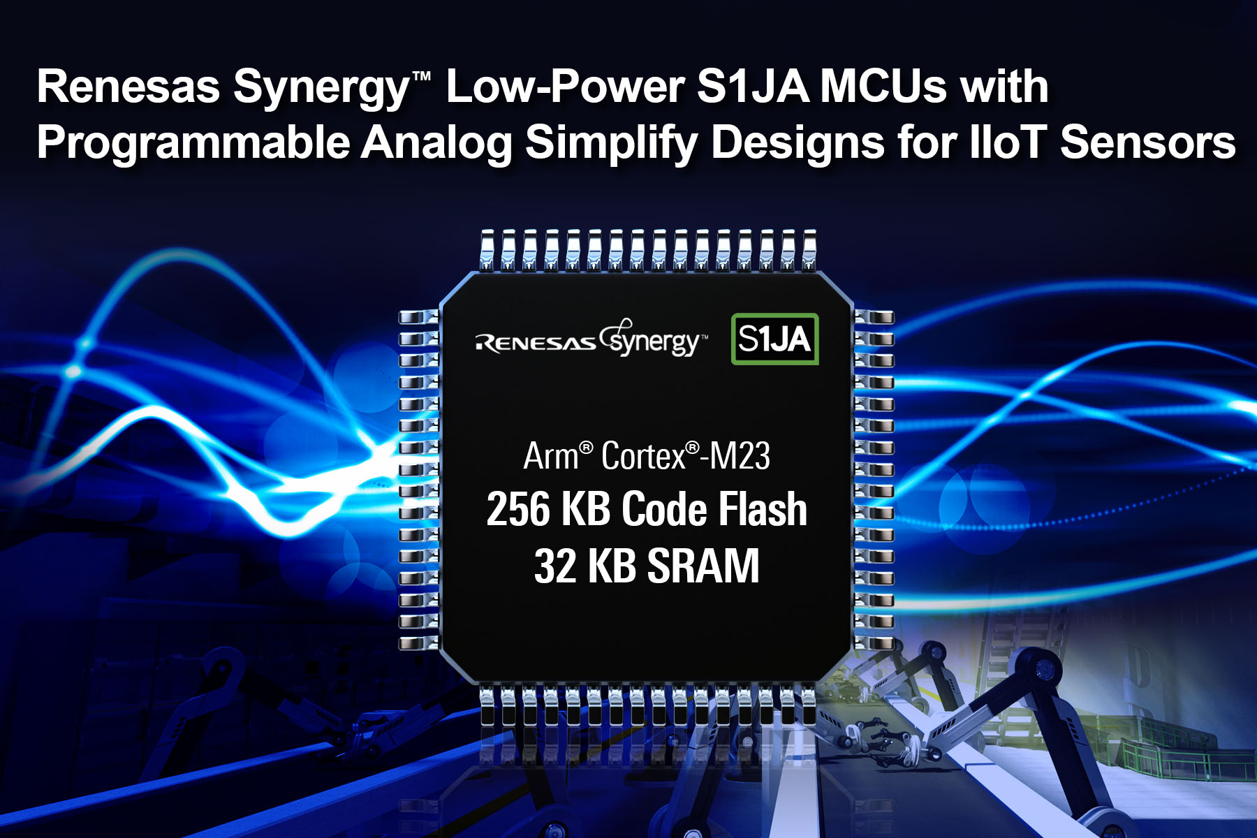 Renesas Expands S1 Mcu Series Microcontroller Based Electronic Eye Controlled Security System Has Expanded Its Synergy With The Introduction Of S1ja Group