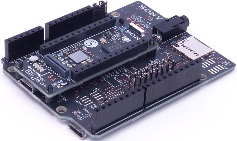 Sony dev kit combines MCUs, GPS and audio