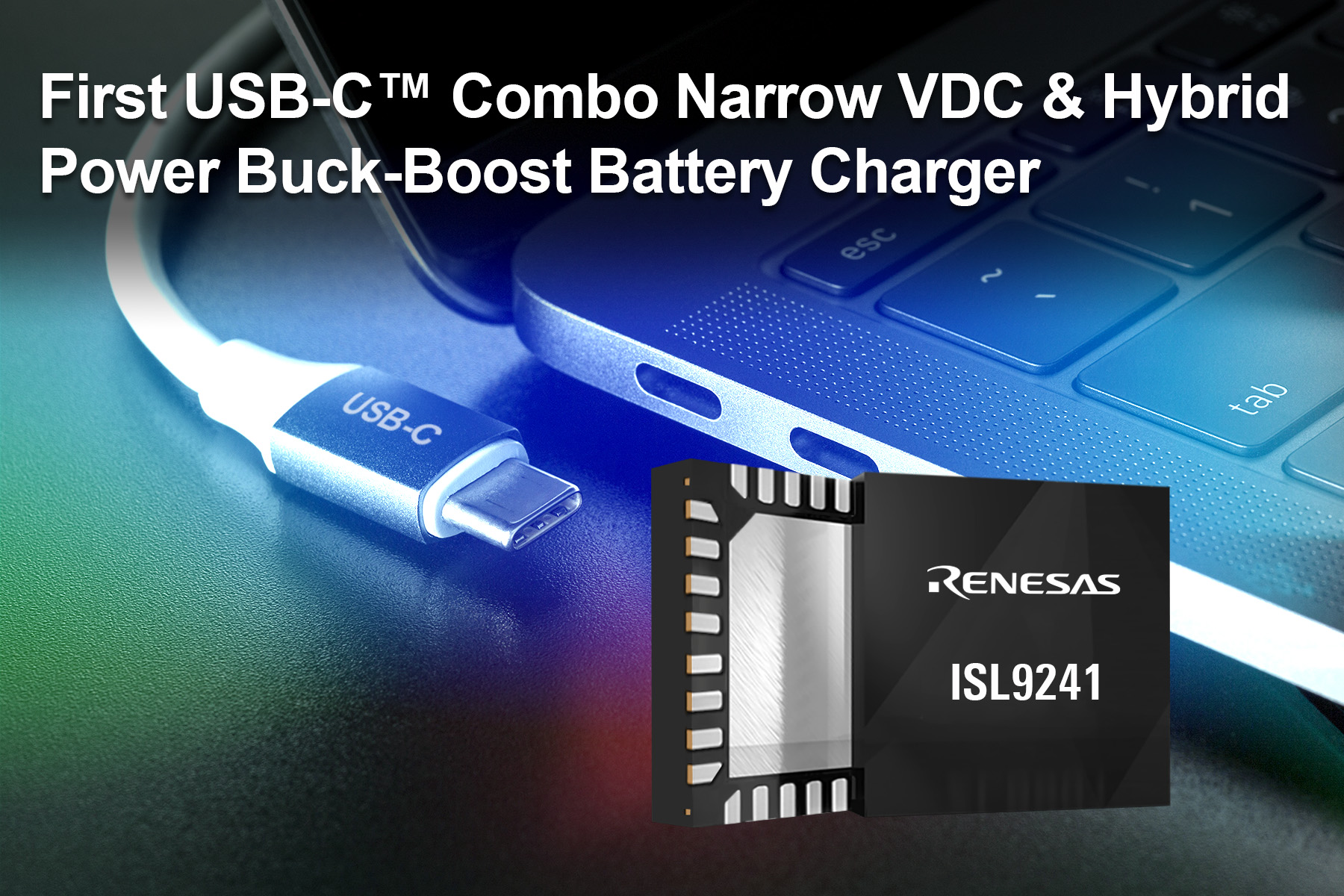 USB-C buck-boost charger supports NVDC and HPBB