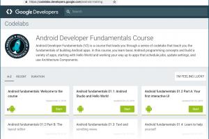 Source code for Google I/O 2019 Android app shared on GitHub