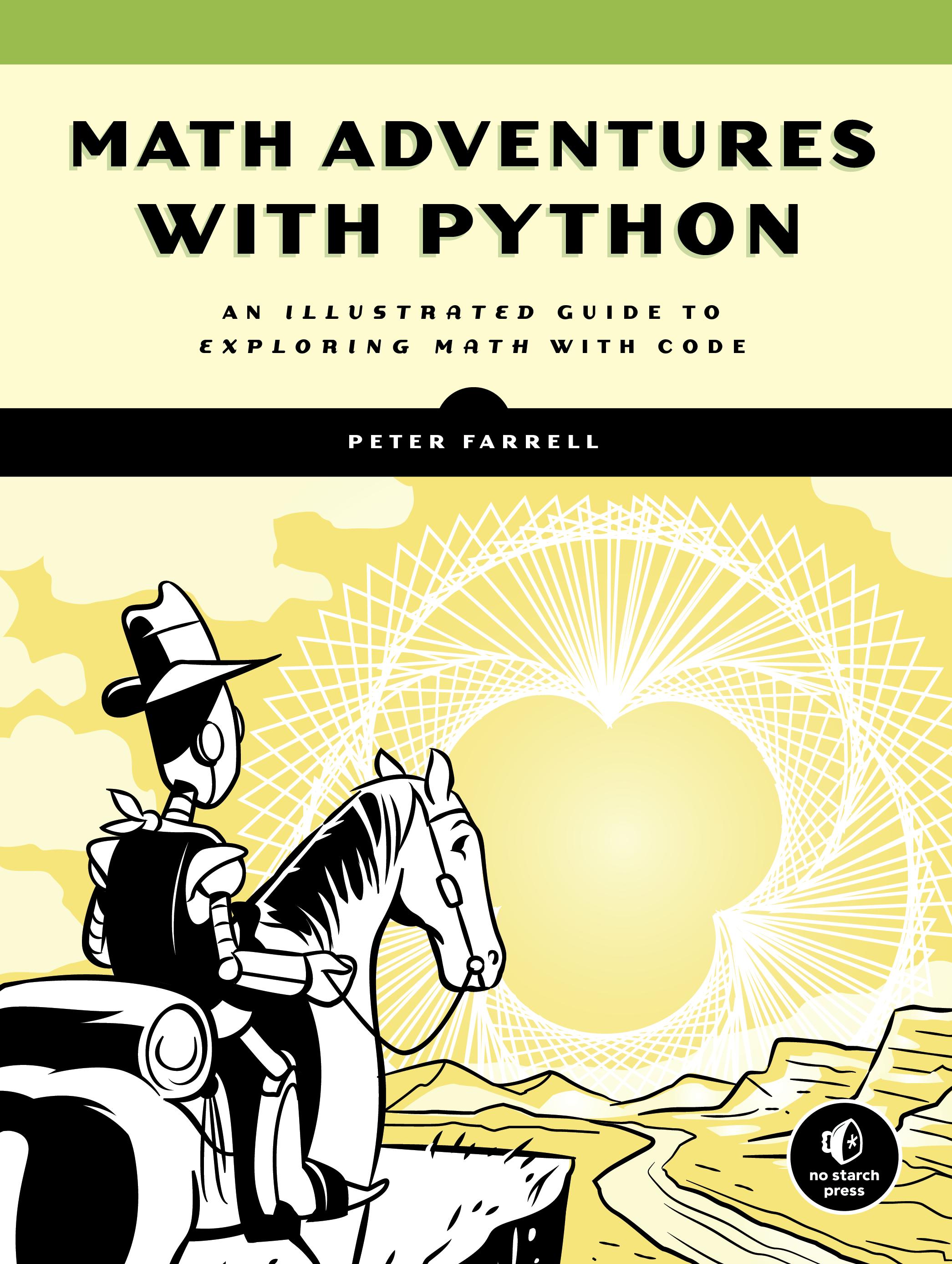 Gadget Book: Maths Adventures with Python