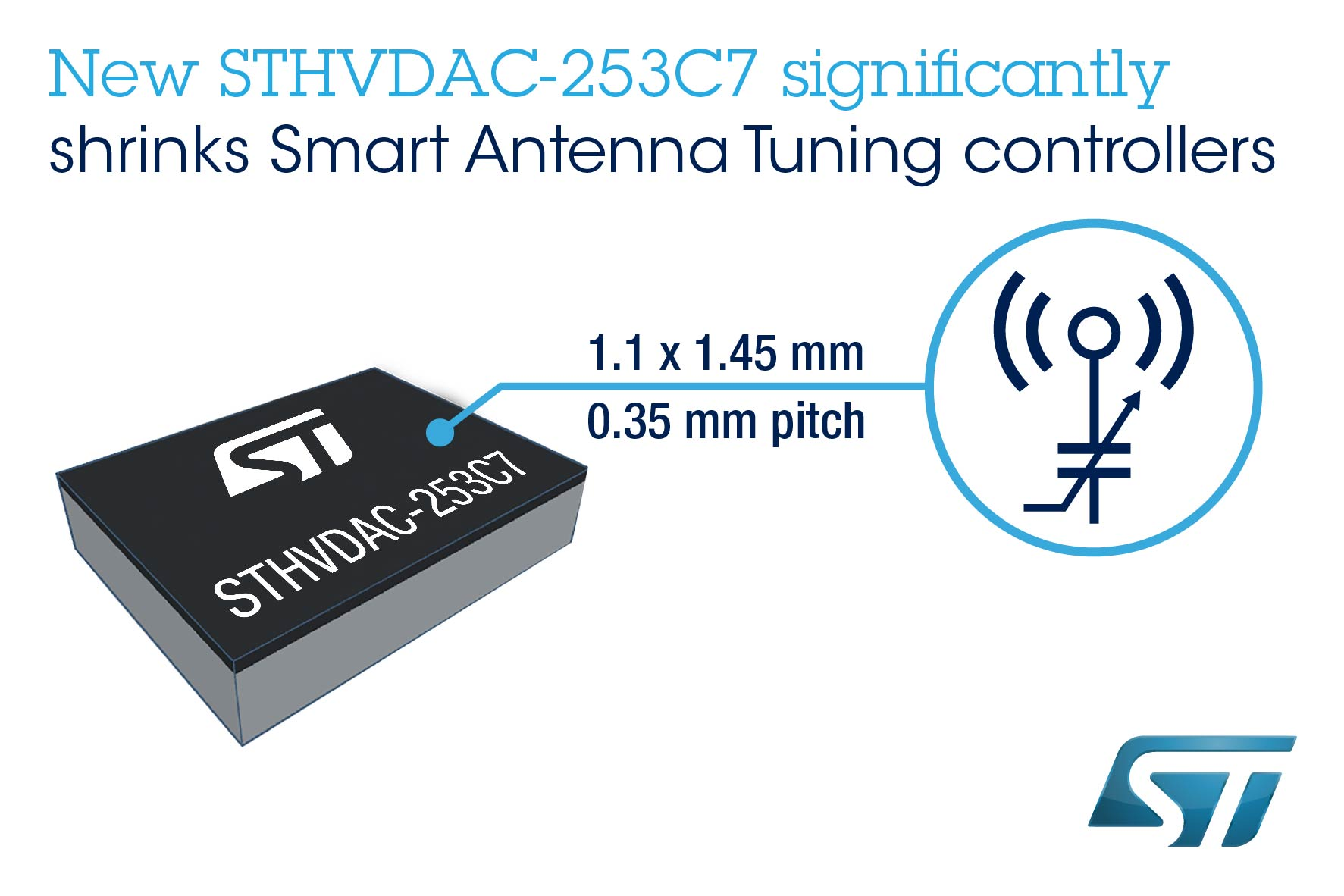 St Shrinks Antenna Tuning Circuits