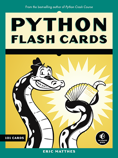 Deal those Python Flash Cards!