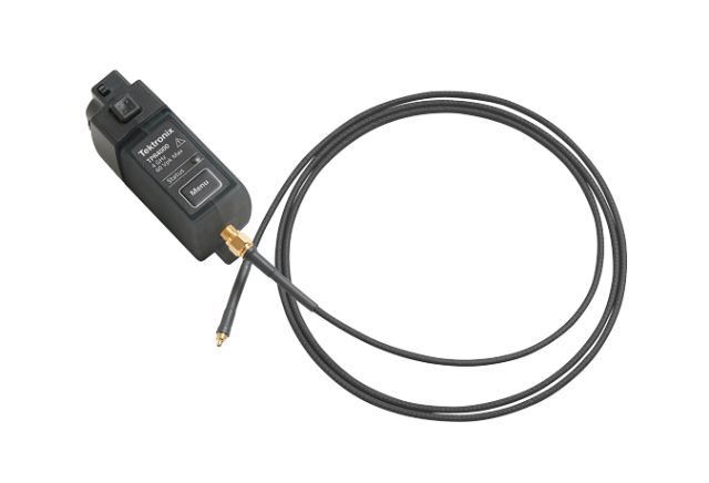 Tektronix power probe works with 1mV and shuns 60V bias