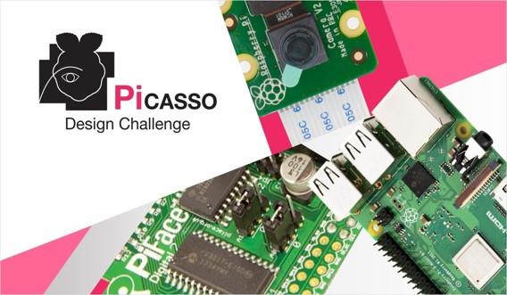 Pi-Casso Design Challenge for digital artists