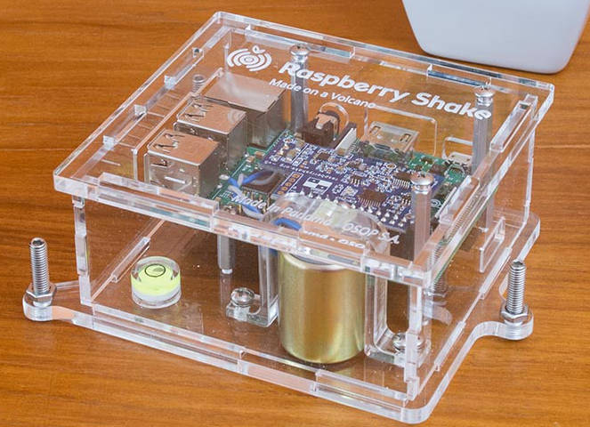 Raspberry Pi helps geologists measure earthquakes and volcanoes