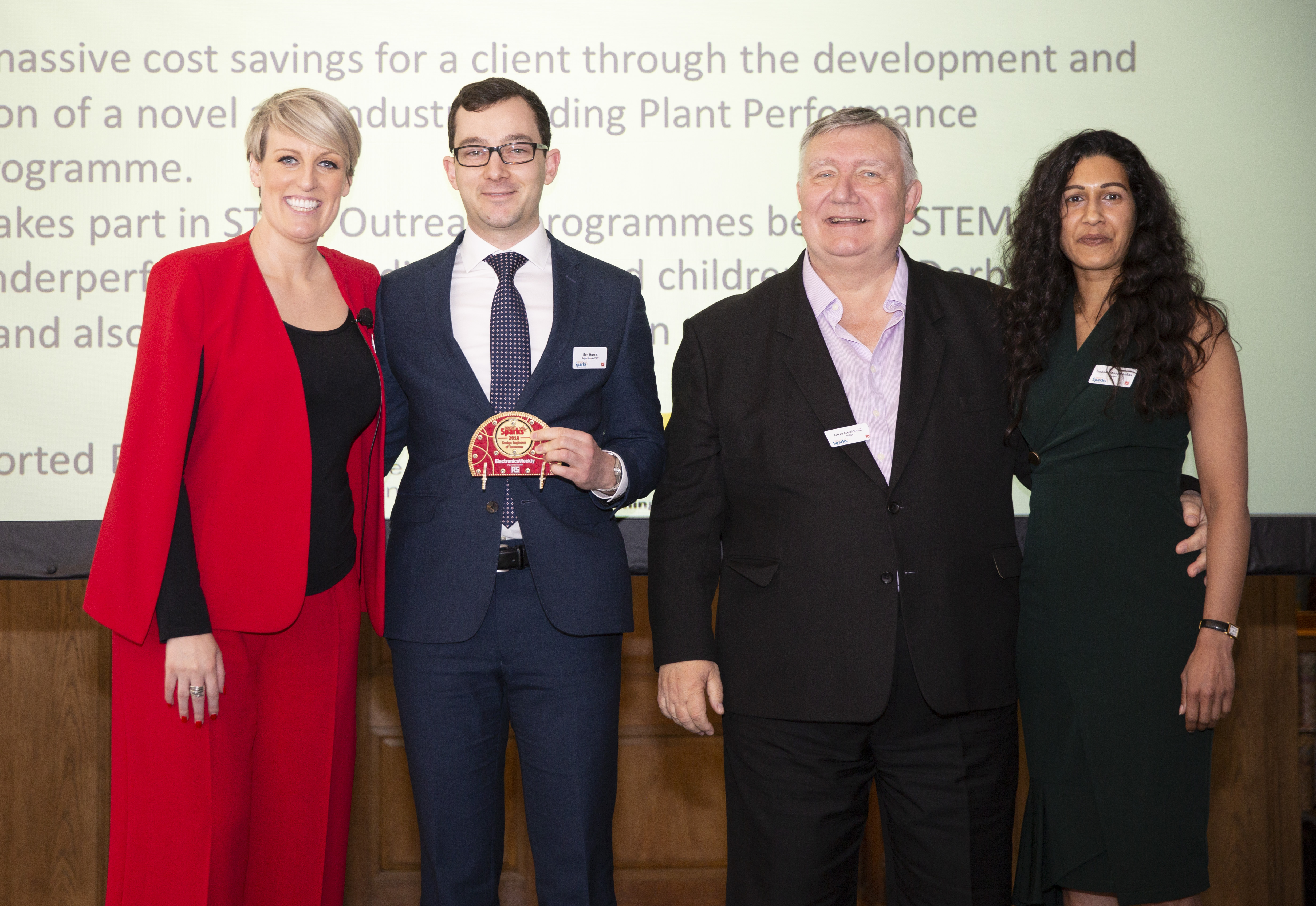 The EW BrightSparks 2019 winners revealed at IET