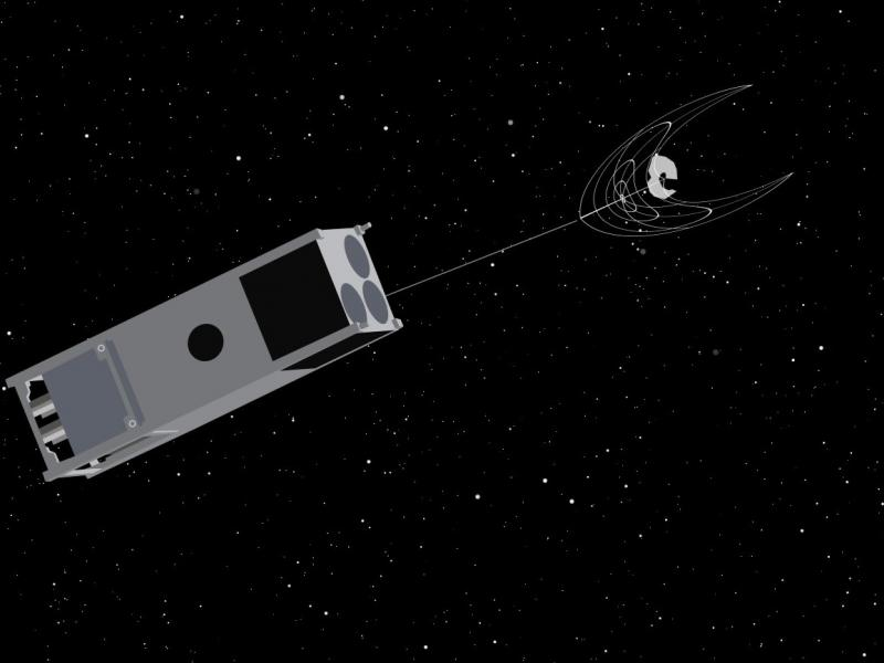 OSCaR CubeSat aims to tidy space debris