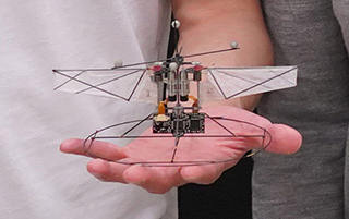 e-humming bird - a more manoeuvrable drone?