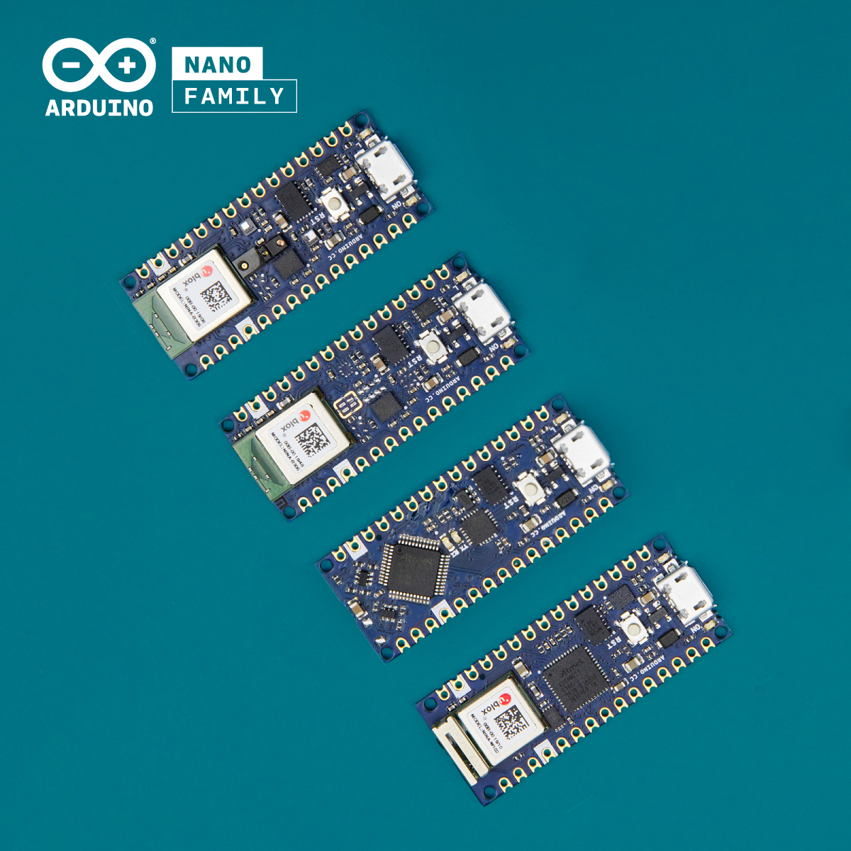 Welcome new additions to the Arduino Nano family
