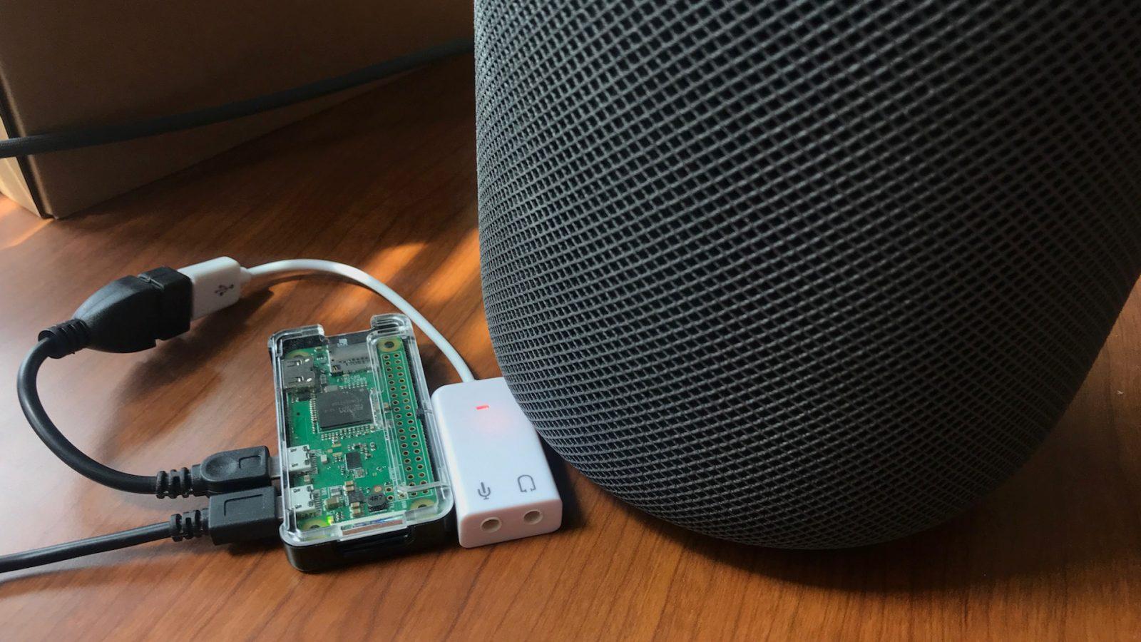 Raspberry Pi makes HomePod work with Spotify, Pandora etc