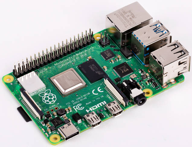 Fan reduces Raspberry Pi 4 temperature from 80°C to 40°C