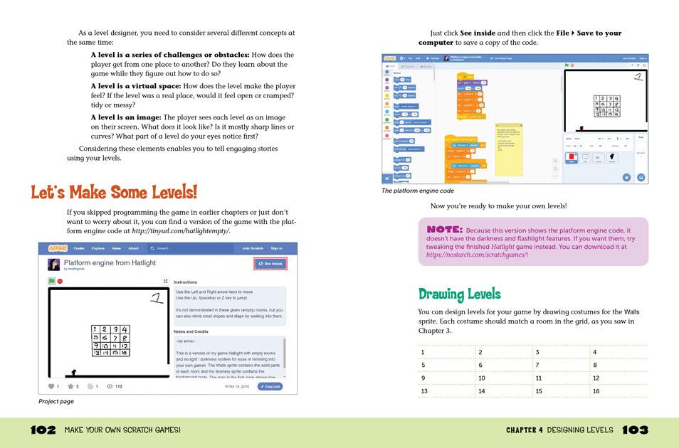Gadget Book Make Your Own Scratch Games
