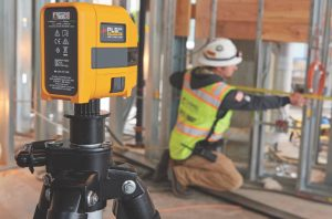 RS Components introduces Fluke laser level tools