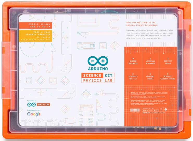 Arduino launches science kit for students aged 11-14