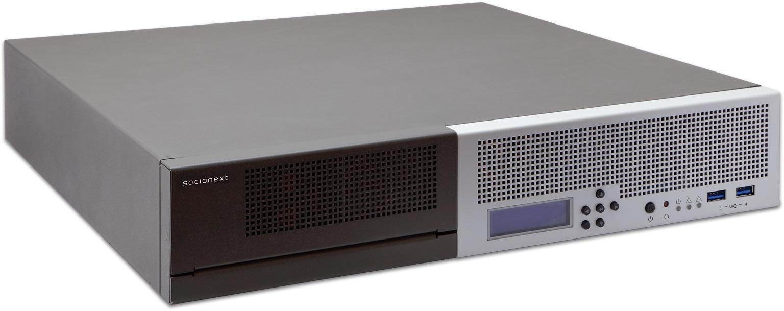 Socionext encoder generates live 8K video streams