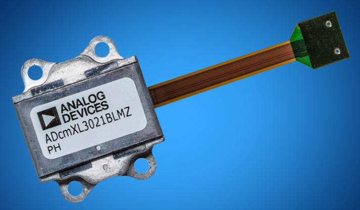 Mouser Electronics now stocking Analog Devices' ADcmXL3021 sensor
