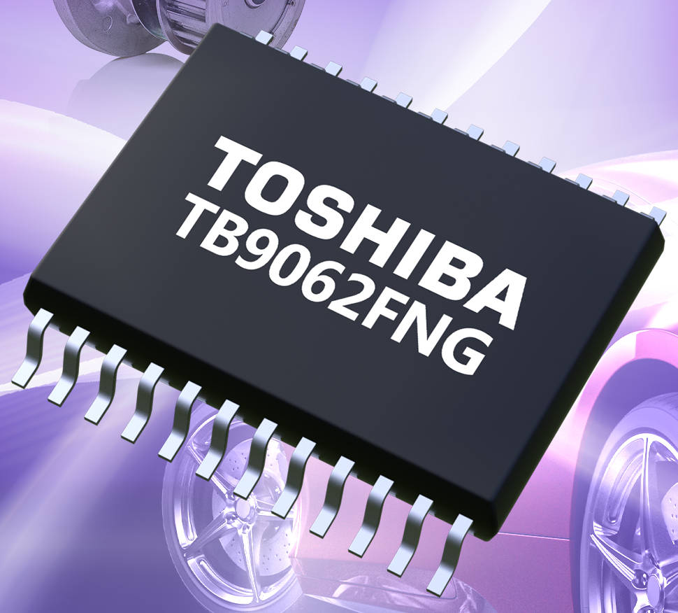 Toshiba launches sensorless control pre-driver IC for BLDC motors