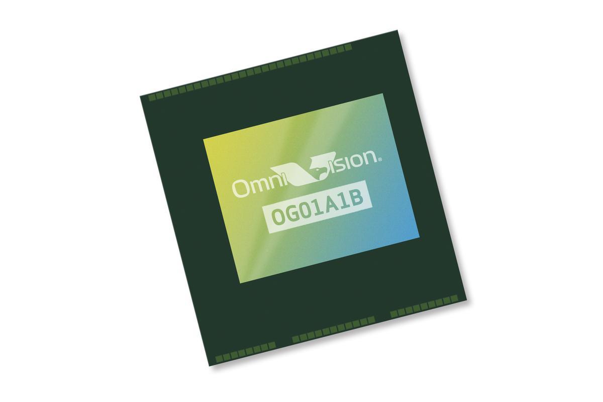 Omnivision sampling sensor with 2.2 micron pixel