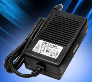 TDK medical 40-65W power supplies comply with EU and US