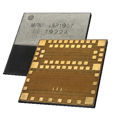 8 x 8 x 1 mm BLE module with integrated antenna for IoT