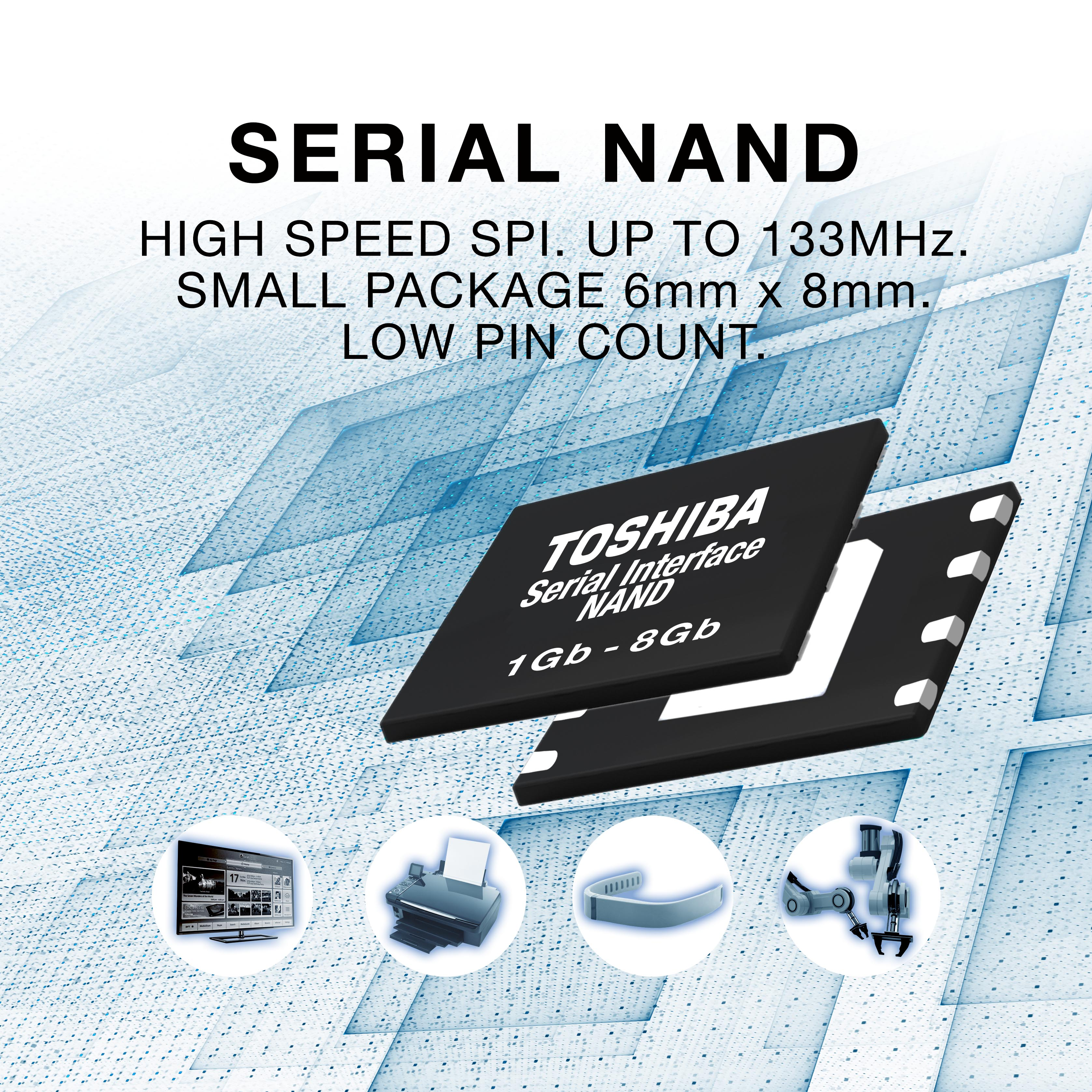 2nd gen NAND for embedded applications