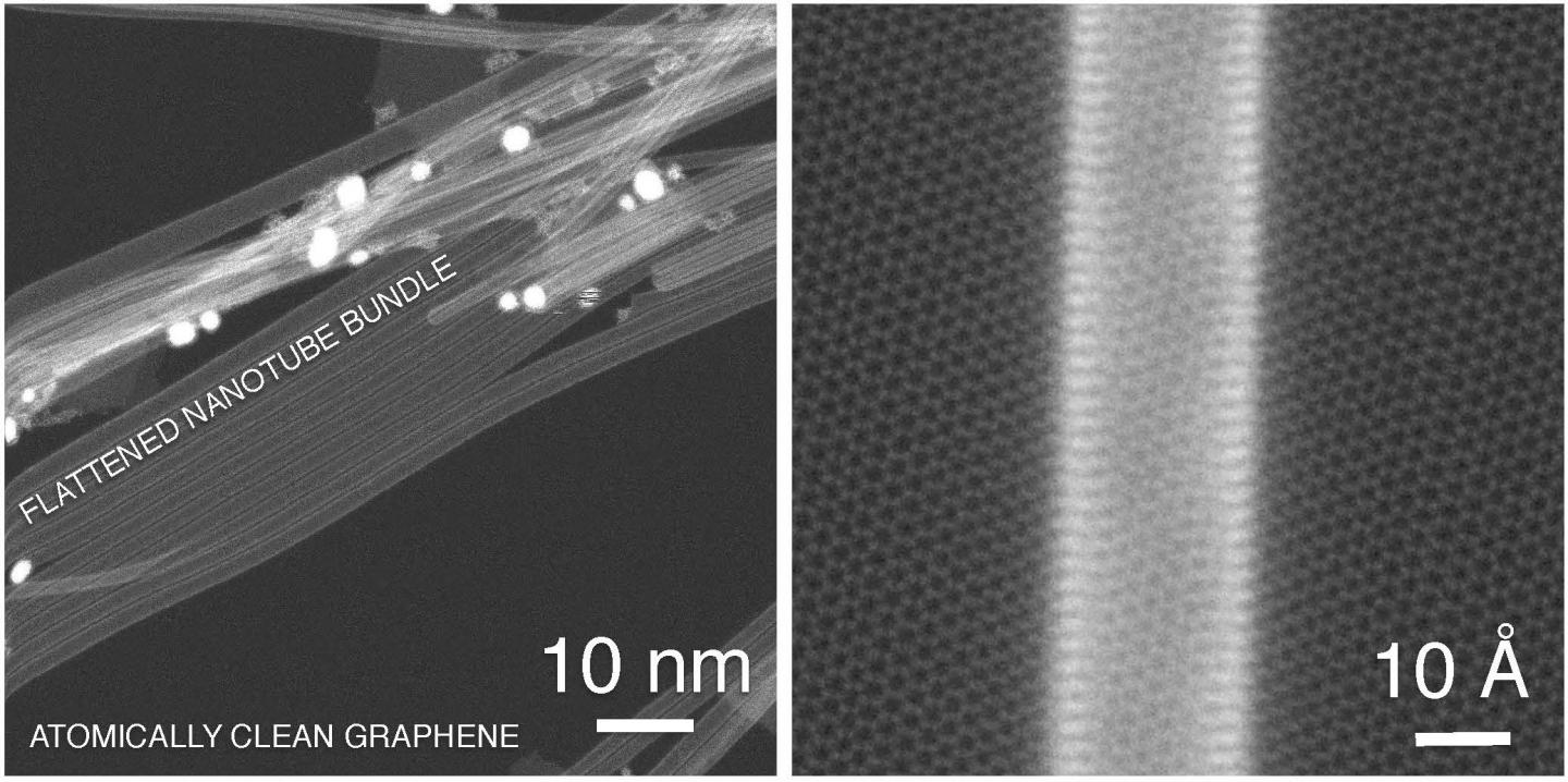 Use carbon nanotubes and graphene for better transparent conductors