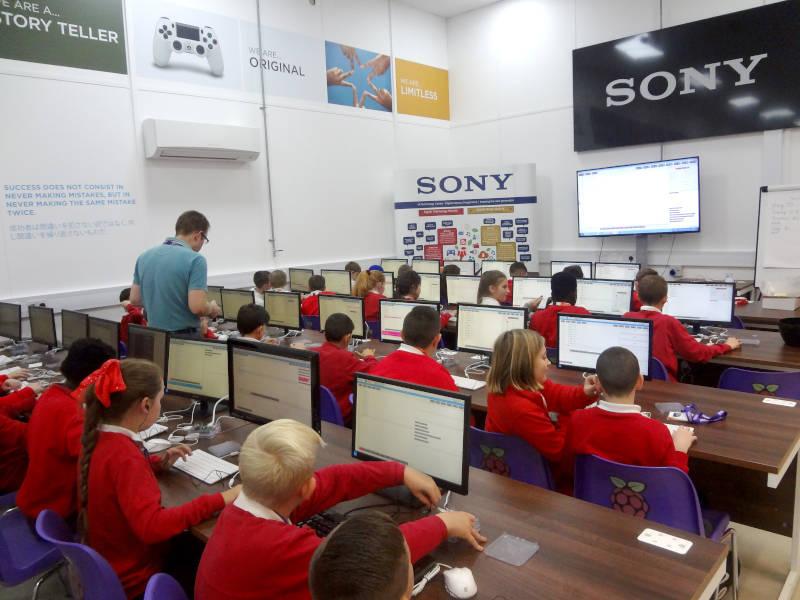 Sony's coding workshops for schoolchildren see increased uptake
