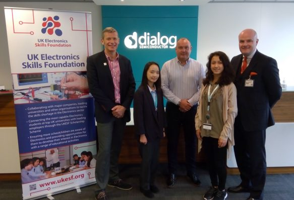 UKESF and Dialog launch award for female STEM students