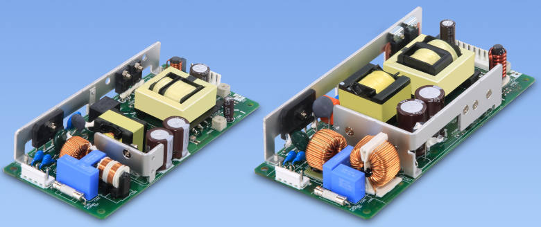 Open frame PSUs reach EN62477-1 OVC III for industrial