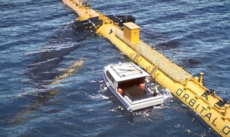 Giant floating tidal turbine for Orkney akes another step towards existence