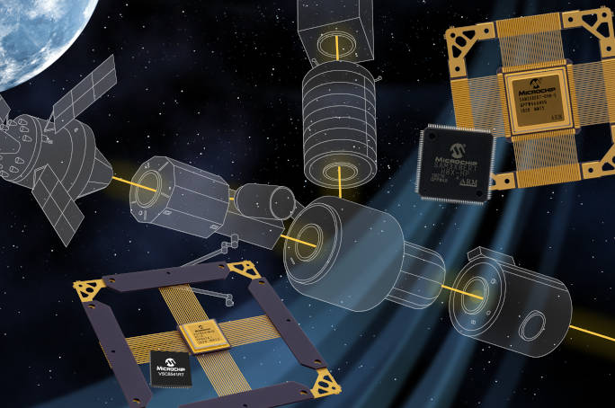 Microchip aims for space, with COTS Ethernet controller