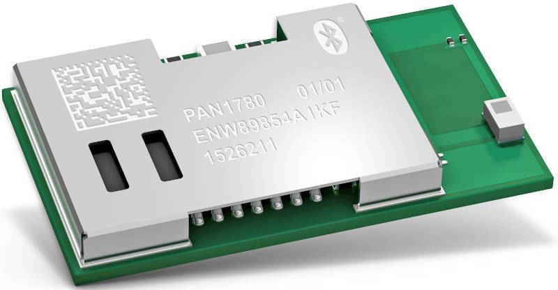 Pan1780 low energy Bluetooth module with -95dBm sensitivity