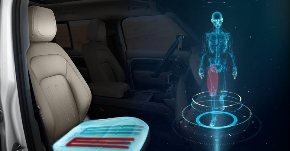 Shape-shifting car seat promotes healthy motoring