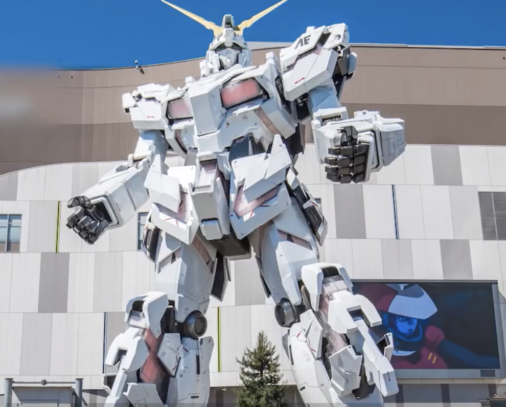 Japan builds giant Gundam robot ahead of Tokyo Olympics