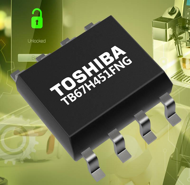Toshiba expands portfolio of single channel motor driver ICs