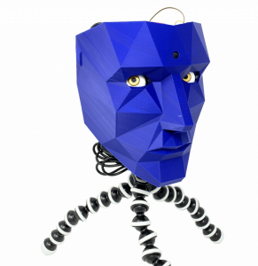 The 3D-printed robot head that won't look away