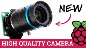 Raspberry Pi модернизирует модуль камеры с объективом