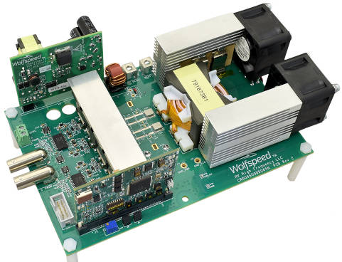 PCIM: Wolfspeed's 650V SiC mosfets, with reference designs